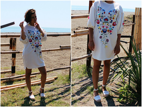 Katerina Lozovaya - Zaful Dress, Zaful Earings - Summertime