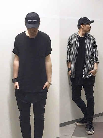 ★masaki★ - Kollaps Ambient Techno, Ch. Shirts Jacket, Ch. Linen Top, H&M Layer, R13 Denim Xover, Vans Old Skool (Marc Jacobs), Maison Martin Margiela Leater Blace - Trash style 167