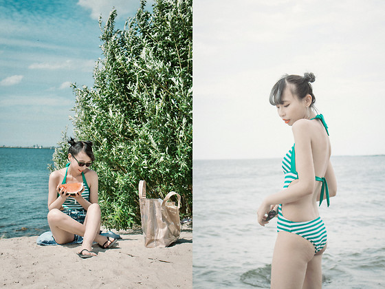 Kennie Cheng - Balneaire Swimming Suit - Let's go to the beach!