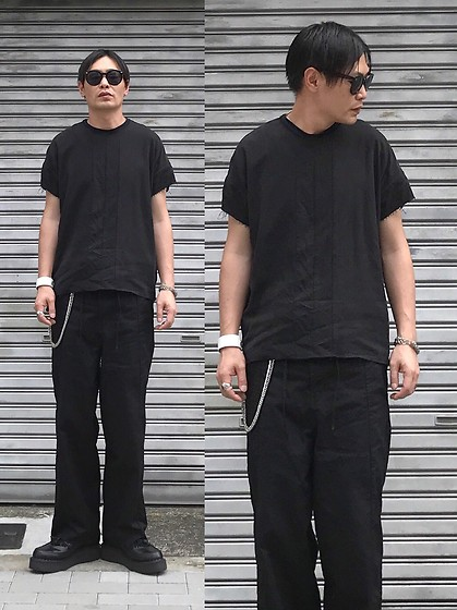 ★masaki★ - Ch. Top, Ch. Wide Pants, George Cox Tussel Cleepers - Trash style 180