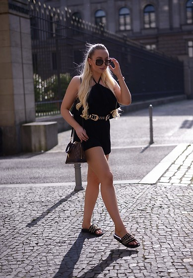 Vanessa Kandzia - Playsuit, Playsuit - ALL BLACK SUMMER LOOK