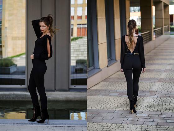 Stephanie Van Klev Earrings, H&M Off Shoulder Blouse