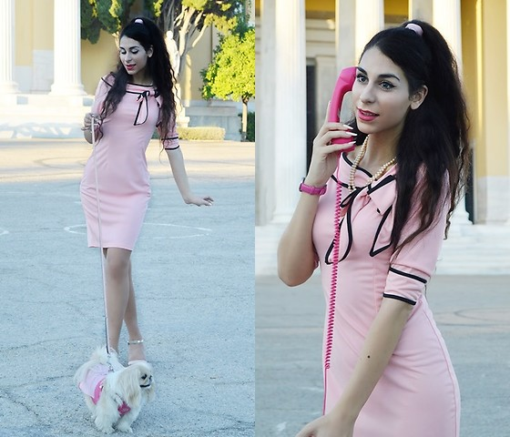 Marina Mavromati - Fashion Mia Dress - Legally Brunette!