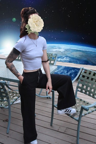 Wawa Baby The Ragged Priest Pants, Adidas Sneakers Space