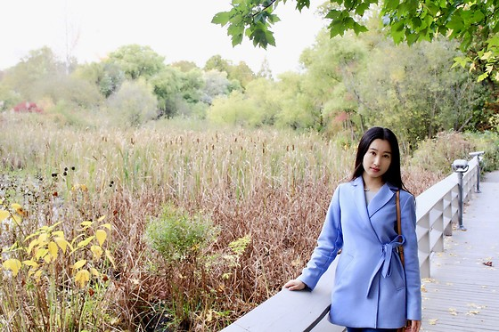 Jade Zhu - Banana Republic Jacket - Close to Nature