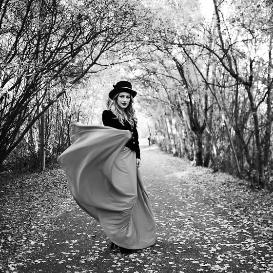Sandy Joe Karpetz Vintage Skirt Vintage Velvet Jacket