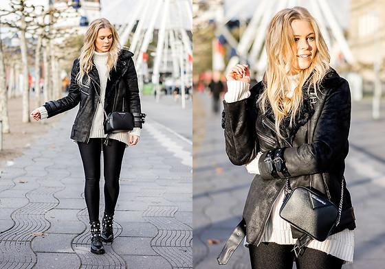 Biker Boots mit Perlen w Sacha Schuhe Fashion Blog