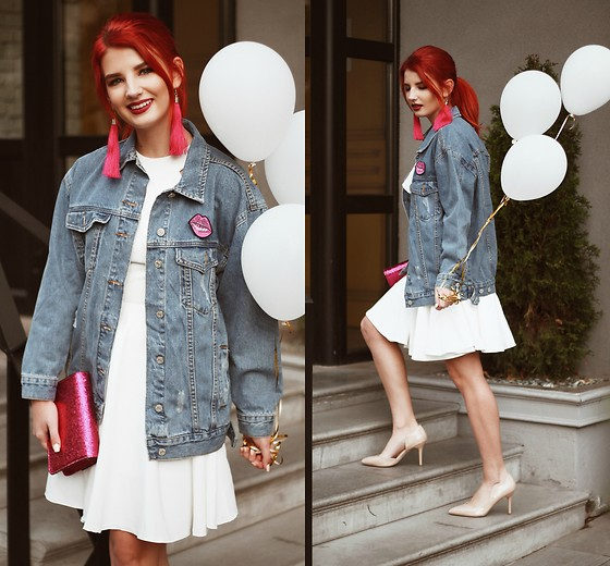 Vlada Kozachyshche - Zaful Jacket, Metisu Dress, Mohito Clutch, Sofab Heels, Soroka Earrings - Happy Birthday, Honey!