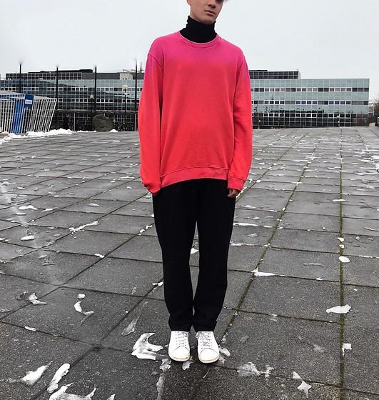 Peter Jones - Raf Simons Jumper, Acne Studios Trousers, Raf Simons Shoes - Icey