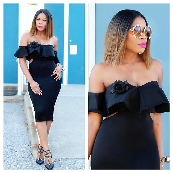 TOMGFASHION COM - Boohoo Midi Bodycon - Midi Bodycon