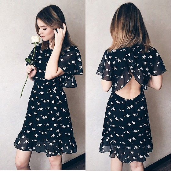 Elena N - Simple Dress - Star dress