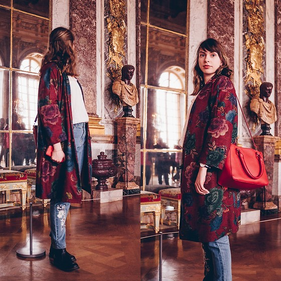 Ana B - Koton Jeans, Freegia Vintage Coat - Feeling Royal at Versailles Palace