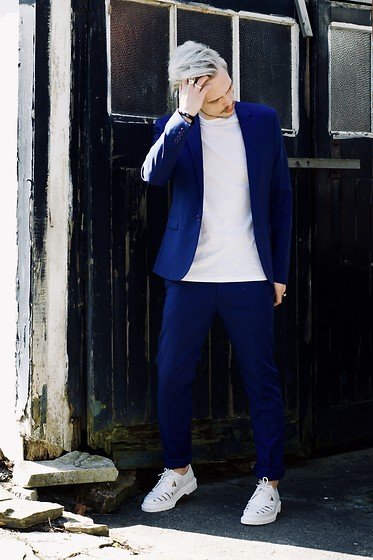 Bradley A - Asos Suit, Dr. Martens Cut Out - CASUAL TAILORING