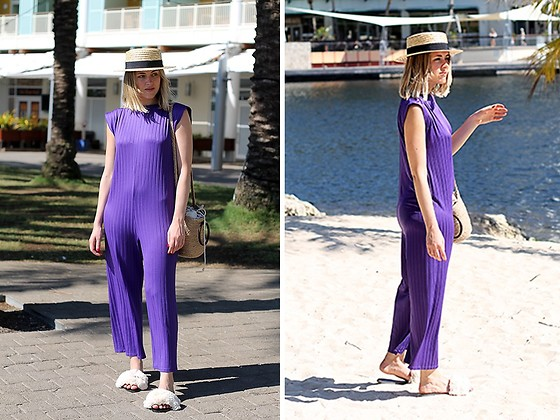 Amy Ramírez - Zara Jumpsuit - Purple