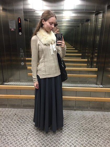 Lexa - Stradivarius Sweater, My Handmade Accessories - 169.