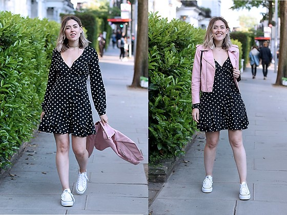 Amy Ramírez - Shein Dress - The magic of polka dots