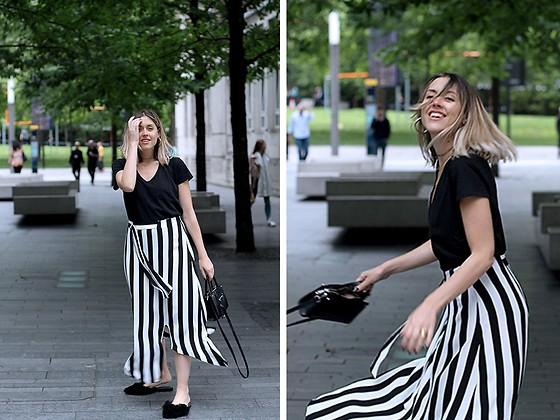 Amy Ramírez - Mango Skirt - Maxi stripes