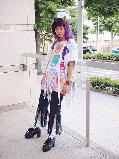 Kanaho Morris - Kanaho Morisue Diy Painting, Kanaho Morisue Wo & Man S, Jeffrey Campbell Shoes Black Star, Kanaho's Show Stage:785 - Aug 18 ,2018 stage:785