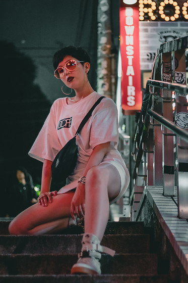 Samantha Mariko - Dope T Shirt, Nike Shoes, Moussy Bag, Zerouv Sunglasses - DOPE pt. 2