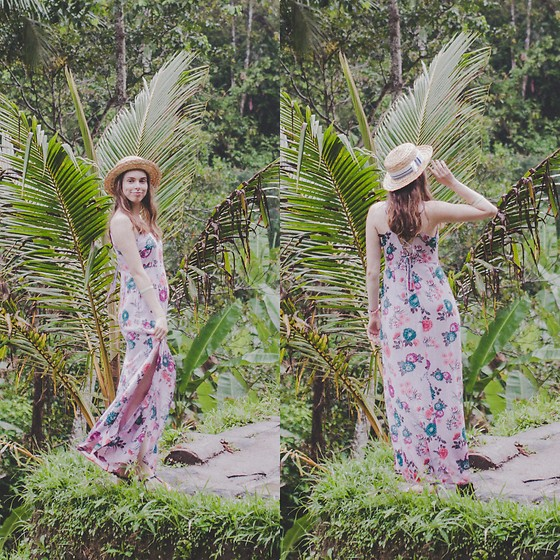 Ana B - Forever 21 Long Dress - Ubud Rice Terraces