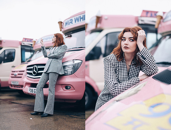 Hannah Louise -  - Checked Suit