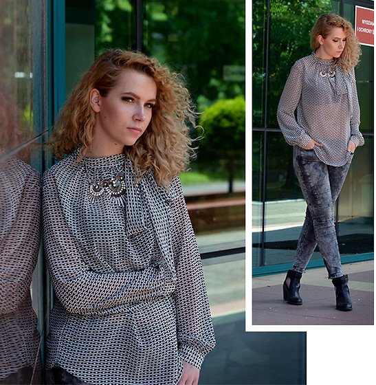 Iga Parker - Five Jeans, Thrift Shop Shirt - Side effects