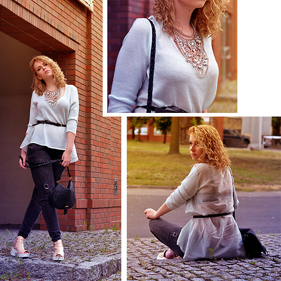 Iga Parker - Zara Jumper, Five Jeans - Sunrise