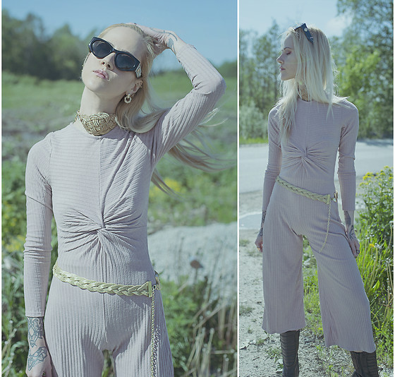 Kadri S - Femmeluxe Jumpsuit - ///first time wearing pink