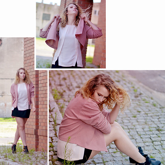 Iga Parker - Kiomi Top, Zara Skirt - In pink