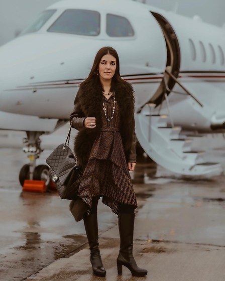 Herstyleboard -  - Private jet look