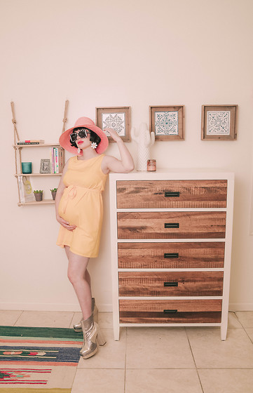 Amy Roiland - Dress - Bedroom Makeover Apt2B