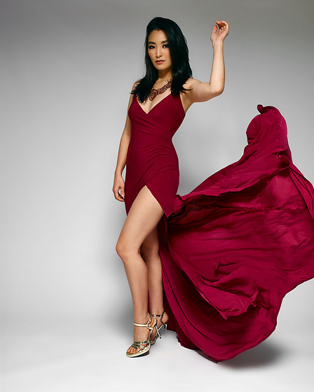 Kimberly Kong - Asos Bodycon Red Dress - 100 Quotes About Love That'll Melt Your Heart