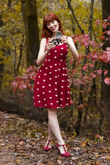 Bleu Avenue - Modcloth Hearts Aflutter Dress - Hearts Aflutter