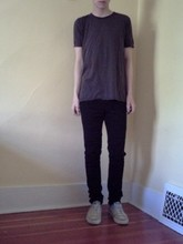 Evan . - Drkshdw S/S Tee, Ksubi, Common Projects - The sun the neon light