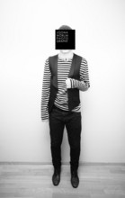 Joona W - Turo Red Label Vest, Dior Homme Jeans, Vagabond Shoes, Hugo Boss Sweater - Stripes