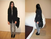 Liliana Orsini - H&M Shoes, H&M Big Bag, 2and Hand Mans Blazer, ??? Vintage Jeans, Casio Alway & Ever My Watch - Barely Legal