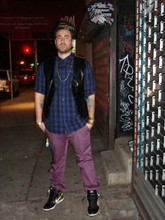 COOL CHRIS $!$!$ - Hugo Boss Purple Yurple, Nike Dunks...Gold, Nyc...The Only City, Frank 151 Chop Shop Fitted, Vintage What It Do Leather, Gold!!!, More Gold!!!, Recon Mad For Plaid - Cant stop...wont stop