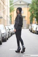Caroline B - Alexander Wang Hat, Acne Studios Jacket, Dolce & Gabbana Jeans, Vince Top, Stella Mccartney Shoes - New day - new shoes