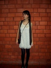 Ann H. - Zara Vest, H&M Dress, H&M Shoes - Jazz-it.