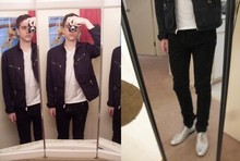 Evan . - Margiela Jacket, Chain, Julian Red Tee, Ksubi Jeans, Dries Van Noten Shoes - The pilgrimming vine