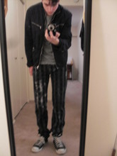 Evan . - Margiela Jacket, Unholy Matrimony Tee, Cloak Pants, Converse - You are one of them
