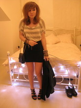 "Jenny Baker - Chanel ""Chanel."" Ha Not Seriously, Gift Snake Belt Worn As Braclet, Asos Mixture Of Braclets, Birmingham Market, Tallulah Tu Selection Of Rings, Topshop Blazer, Topshop Peep, Topshop Stripe, Topshop Zip, Asos 5' - There's a monster outside my room, can I have a glass of water?"