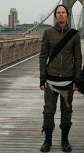 Casius Arno - Rick Owens Jacket, Rick Owens Tops, Drkshdw Jeans, Rick Owens Boots - Unzipped