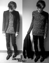 Johan Andrén - Cheap Monday Blazer, Raf Simons Sweater, Dior Homme Pants, Vagabond Shoes - Randomcoolnameonthislooktogethypes.