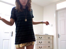 Jenny Baker - Vintage, Home Made Sequins - Are you worth your weight in gold?