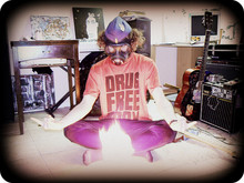 Ellis Dee - Dnd Supply Room Royal Canadian Air Force Wedge, Quinn The Eskimo Cf Issue Gas Mask, Emanuel Geraldo Drug Free Body T Shirt, Iode Thrift Tight Velvet Pants, Roots Socks, My Own Alchemical Concoction The Violet Flame - Alchemey survives the aeons
