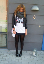 Fanny Wallertz - H&M Jacket, H&M Superhero T Shirt, Scorett Shoes - Tell me i'm a superhero