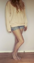 Amanda Caroline Johansen - My Moms Old Sweater, Selfmade Shorts - Things are getting worse, but i feel a lot better