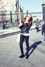 Marie Skinny - Bershka Jeans, Zara Jackets, Accessorize Bag, Accessorize Ring - Everybody lives for love