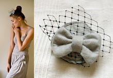 Magda D. - Handmade Hairpin - Gray Is Great!
